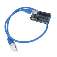PCI-E Power Adapter Cable PCI-E Express 1X to Dual 4x Extension Cable NEW