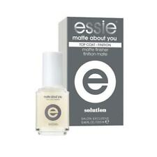 essie Nail Matte About You Finisher 0.46 fl oz finishing Top coat Topcoat New