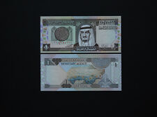 Saudi Arabia Banknotes Quality One Riyal   1984  Great presentation    MINT UNC