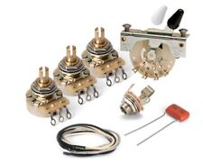 Stew Mac Stratocaster Premium Upgrade Cts Pots & Switchcraft Items