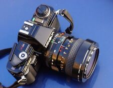 MINOLTA x-300 35mm Film SLR Camera with MINOLTA md 35-70mm f3.5 macro lens