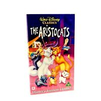 Walt Disneys Classics The Aristocats VHS Video Tape Cats Hologram Edition Rare