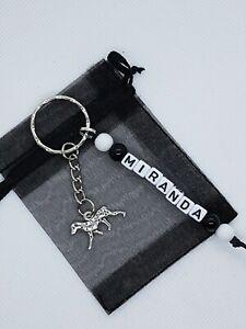 Personalised Dalmatian Keyring, Dalmatian gifts, Dalmatian lover, dog gifts