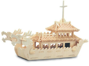 Dragon Boat  QUAY Woodcraft Construction Kit FSC