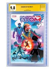 CHILDREN OF THE ATOM #1 GUARANTEED CGC 9.8 SIGNED BY BERNARD CHANG PRESALE