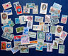 50 different used stamps from France : Sites, historical events & figures (III)
