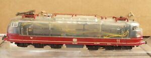 Märklin TEE-Rheingold E-Lok BR 103 121-0 DB gläsernes, durchsichtiges Gehäuse