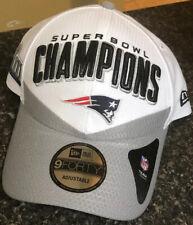 New ENGLAND Patriots NFL 2019 Superbowl 53 White Adjustable Hat