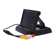 Foldable TFT LCD Color 4.3 inch Car Rear View Monitor Reverse Backup Camera