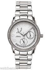 Aqua Master Women's White Dial Stainless Steel Case .24ct Diamonds Watch W#117