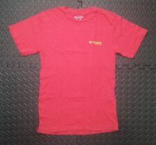 Men's Columbia PFG NOS T-Shirt  NWOT SZ Small Red