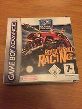 Gameboy Advance Rock N Roll Racing CIB Genuine Official Item