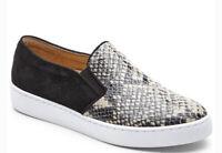 Vionic Midi Slip On Snakeskin Sneakers Size 8.5