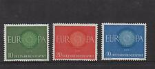 WEST GERMANY MNH STAMP DEUTSCHE BUNDESPOST 1960 CEPT EUROPA SET SG 1251