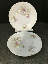 2 J&C Louise Small Plates - c 1898