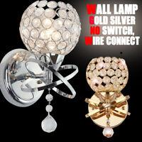 Crystal Wall Lamp Modern E27 Vanity Lights Indoor Sconce Bathroom 35$/2pcs USEA
