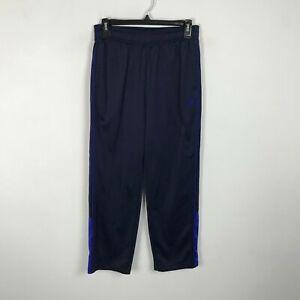Fila Sport Boys Youth Polyester Pants Size 14 16 Navy Blue Elastic Waist Pockets