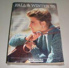 1985 MONTGOMERY WARD FALL AND WINTER CATALOG