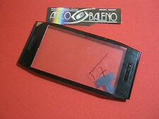 Kit VETRO + TOUCH SCREEN per Nokia X7 X7-00 nero+FRAME TELAIO CORNICE COVER