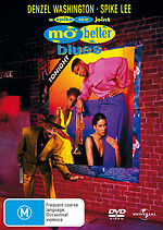 Mo' Better Blues Denzel Washington New DVD R4 Sealed