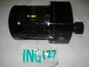 Bodine inline gearmotor 671, 1/12hp, 115Vac, 5.7rpm, 300:1, 0671, 42R3BFCI-E4