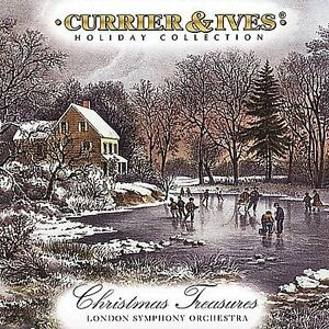 Currier & Ives: Christmas Treasures - CD -
