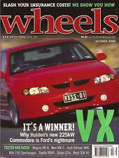 Wheels Oct 00 Alfa 156 Sportwagon SLK 320 VX SS Impreza