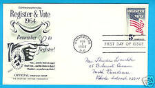 Register & Vote 5 Cents 1964