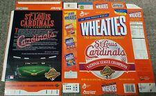 St. Louis Cardinals 1996 National League Champions Commemorative Box Flat