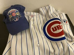MLB CHICAGO CUBS Greg Maddux JERSEY #31 Majestic ⚾️ Size XL 💯Authentic RARE