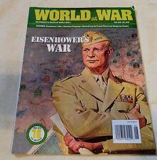 World at War WWII Eisenhower Aleutians Campaign Strategy Tactics Magazine