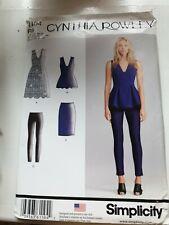 Simplicity Cynthia Rowley 1104 Dress Making Pattern