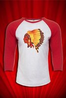 Native American Indian 1970s T-SHIRT FREE SHIP USA
