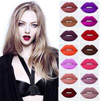 Pro Makeup Velvet Waterproof Matte Liquid Lipstick Long Lasting Lips Gloss Rouge