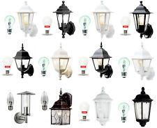 Traditional Garden Wall Outdoor Lanterns - Motion Sensor / LED CHOOSE CAREFULLY