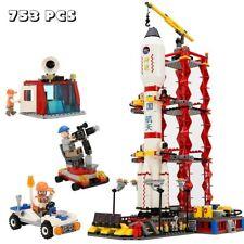 753pcs Space Shuttle Spaceport Center Plane Building Blocks Bricks Puzzle Toy