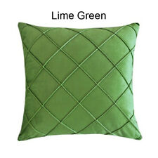 7 Colors Soft Smooth Thick Polyester Cross Deco Throw Pillow Case Cushion Cover
