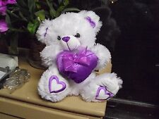 "VALENTINE PLUSH POLAR BEAR BY ATICO,14"",FOR CHILDREN OF ALL AGES,MADE IN CHINA!"