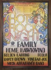 Family Home Hawkwing Golden Earring Focus Savoy Brown Vinegar Joe Poster RARE