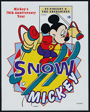 St Vincent 2660-5 MNH Disney, Winter Sports