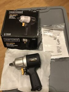 Craftsman Pro Series 1/2 Inch Drive Air Wrench 875.198651 Composite Impact