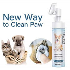 Pet Paw Cleaner, Shenmate No-Rinse Waterless Shampoo for Small Medium Large Dogs
