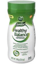 Benefiber Healthy Balance Prebiotic Fiber Daily Digestive Support 3.5oz 12/2020