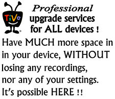 Tivo 3 HD + Premiere UPGRADE SERVICES YOU KEEP YOUR RECORDING and SETTINGS