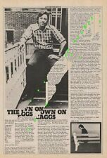 Boz Scaggs LP advert ZigZag Clipping 1976 EFGH