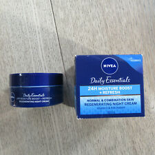 NIVEA DailyEssentials 24H Moisture Boost + Refresh Regenerating NIGHT Cream 50ML