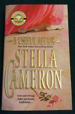 Vintage 2004 A Useful Affair Stella Cameron Paperback Book Historical Romance
