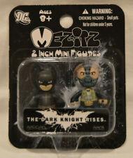 Dark Knight Rises Mez-Itz Batman and Bane Vinyl Figure 2-Pack 2 inch Mini Figure