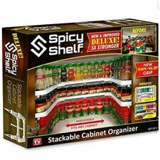 Spicy Shelf Set of Two Spice Racks - White