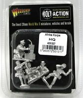 Bolt Action 403012027 Afrika Korps HQ (German) WWII Infantry Officers Command